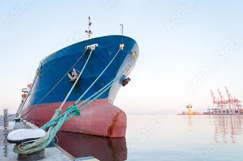 Moored Vessel Fototapeta