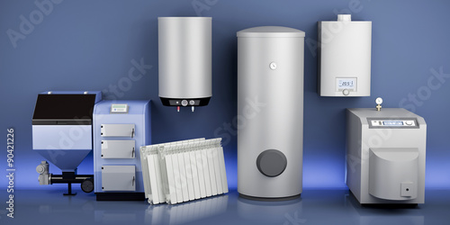 Fototapeta Heating system collection 2 obraz