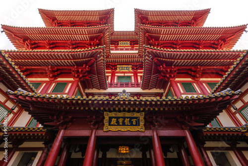 Buddha Tooth Relic Temple and Museum at Chinatown