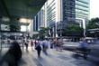 Leinwandbild Motiv Brisbane city pedestrians