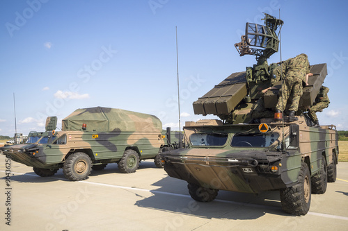 Photo loading antiaircraft missiles supplied Anti-aircraft defense system OSA