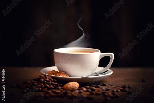 Fotografie, Obraz  Heisser, Frischer Kaffee