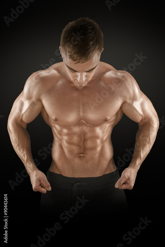 Photo  Strong and power bodybuilder