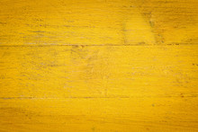 Yellow Painted Wood Background