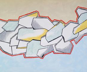 Fototapetaan abstract painting