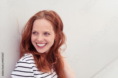 Fotografie, Obraz  Atraktivní lachende Frau