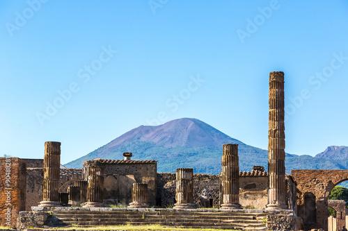 Photo Pompeii city
