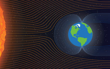 Magnetic Field Of Earth. Prote...