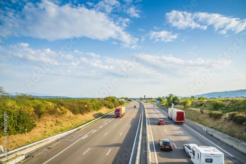 Fotografía  Française autopista