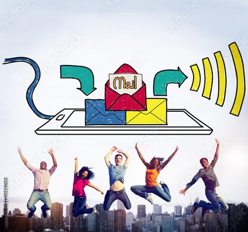 Mail Inbox Message Communication Technology Concept