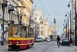 Fototapeta Miasto - Plac Wolności, Łódź, Polska