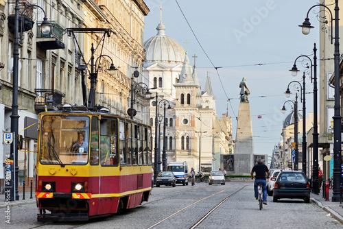 Obraz Plac Wolności, Łódź, Polska - fototapety do salonu