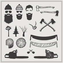 Lumberjack Characters With Too...