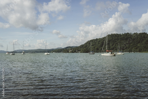 Photo sur Aluminium Antarctique Lake Windermere, view from Bownness-on-Windermere
