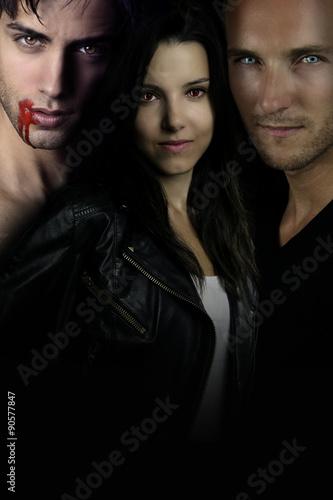 Fotografia  A vampire story - romance between vampire