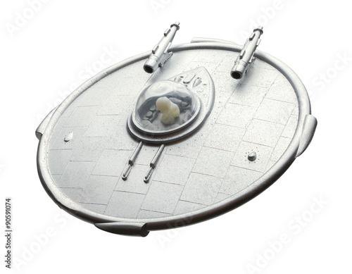 Foto op Canvas UFO Alien UFO Spaceship