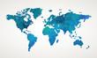 World map vector abstract illustration pattern