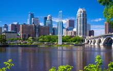 Mississippi River, Minneapolis...