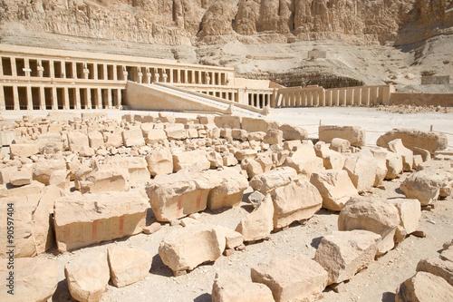 Foto op Plexiglas Xian temple of Hatshepsut near Luxor in Egypt