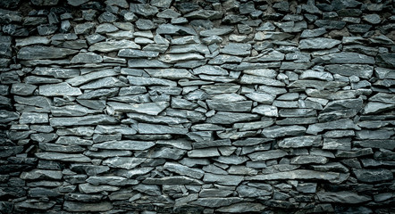 Fototapeta Abstract background of Stone wall vintage cool tone