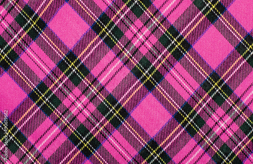 Scottish tartan pattern Wallpaper Mural
