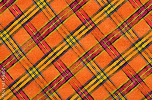Scottish tartan pattern Canvas Print