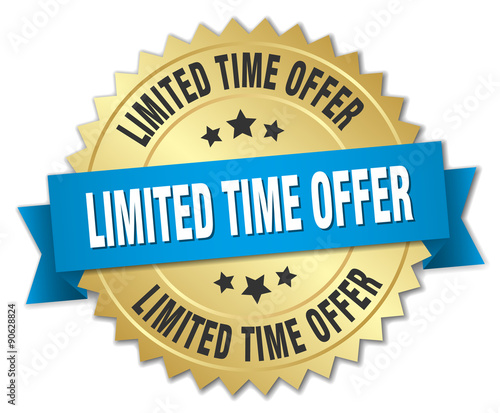 Cuadros en Lienzo limited time offer 3d gold badge with blue ribbon