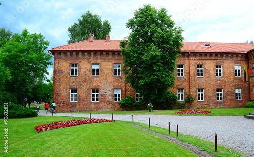Fotomural Raudone old red bricks castle ensemble on June 27, 2015