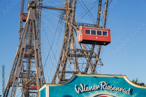 The Giant Ferris Wheel at the viennese Prater,Vienna, Autstria