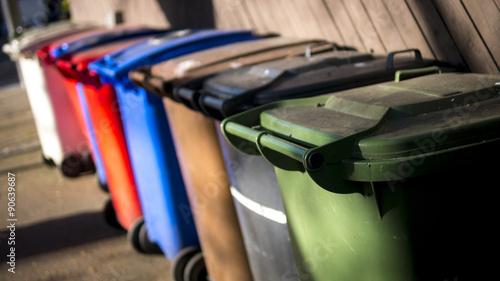 Fényképezés  Recycle Wheelie Bins