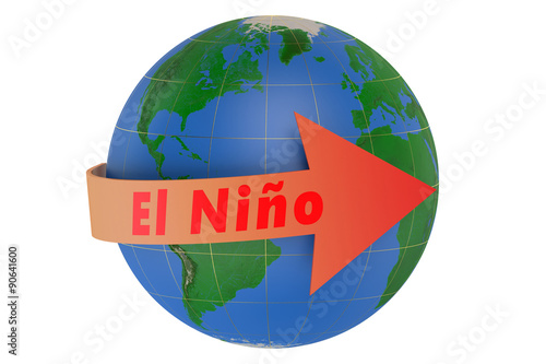 Fotografie, Obraz  El nino concept