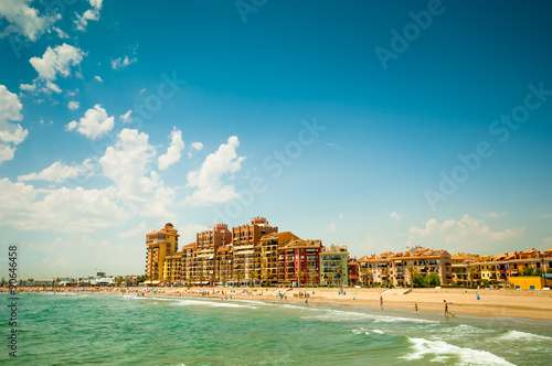 City beach in Valencia, Spain