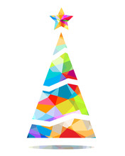 Christmas Tree Triangular Design