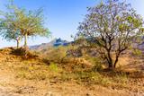 Landscape in the rural area in Ethiopia