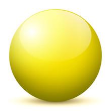Beautiful Yellow Unlabeled 3D ...