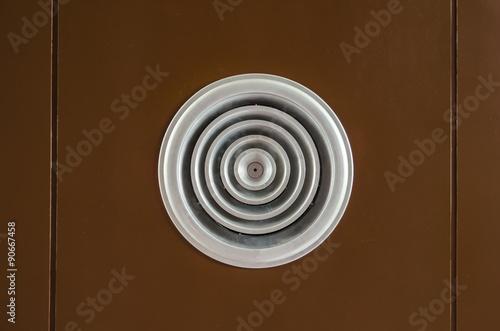 Foto op Plexiglas Stenen in het Zand Circular air ventilation