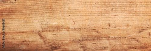 Fototapeta Hochauflösende Holz Textur Holzbrett hell obraz
