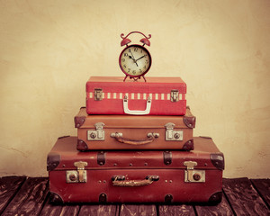 Obraz na Szkle Vintage Time to travel