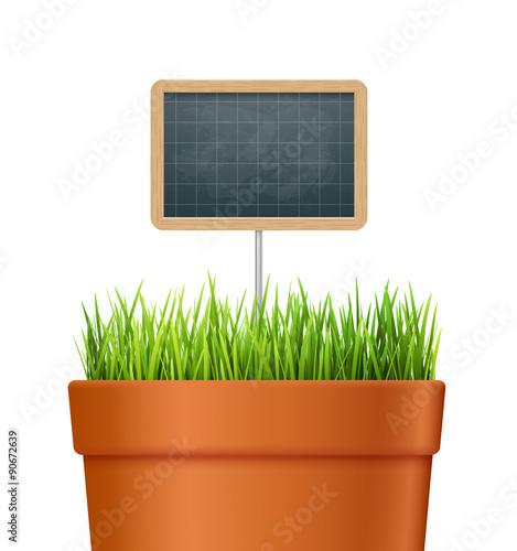 Pot De Fleur En Terre Cuite Vectoriel 1 Buy This Stock Vector And