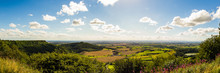 Sutton Bank, Yorkshire, UK Pan...