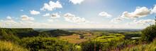 Sutton Bank, Yorkshire, UK Panoramic View