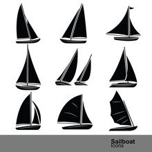 Sailboat Vector