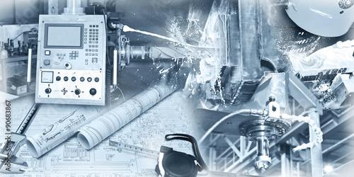 Fotografía  Industrie - Mechanik - Collage