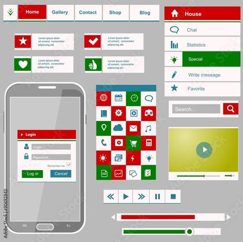 Interface – kaufen Sie diese Vektorgrafik und finden Sie ähnliche ...