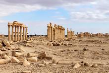 Palmyra Historic Site, Syria /...