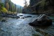 Leinwanddruck Bild - Gallatin River, Montana