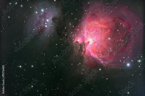 M42 Nebulosa di Orione Tableau sur Toile