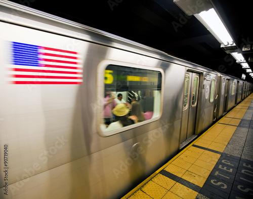 Fotografie, Obraz  Metro