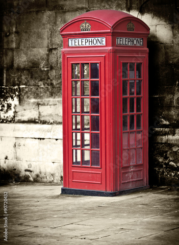 Fotografie, Tablou  Phone Box