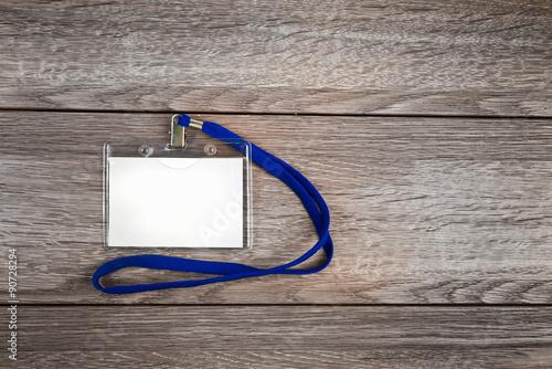 Fotografía  Tarjeta de identificación tarjeta de identificación